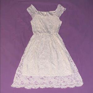 Coii White Dress Small